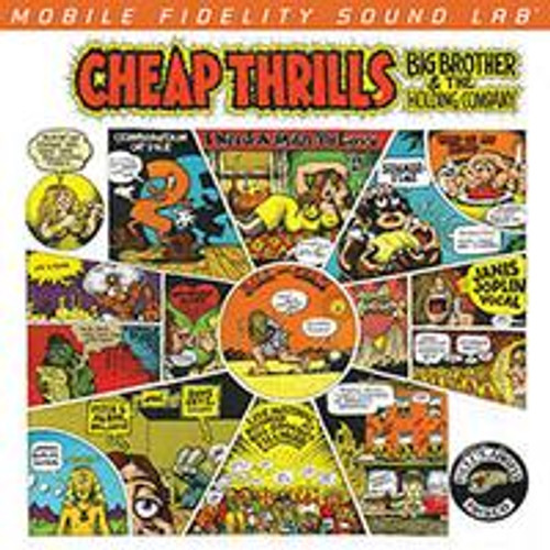 Big Brother and The Holding Co. With Janis Joplin - Cheap Thrills (1x Numbered Hybrid SACD) Rock SACD. MoFi - Mobile Fidelity Sound Lab UDSACD2172. EAN 821797217262. Release date 00.01.1900. More info on www.sepeaaudio.com