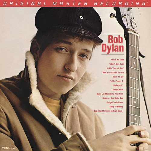 Bob Dylan - Bob Dylan (1x Limited to 3,000, Numbered Hybrid Mono SACD) Pop SACD. MoFi - Mobile Fidelity Sound Lab UDSACD2177M. EAN 821797217767. Release date 00.01.1900. More info on www.sepeaaudio.com