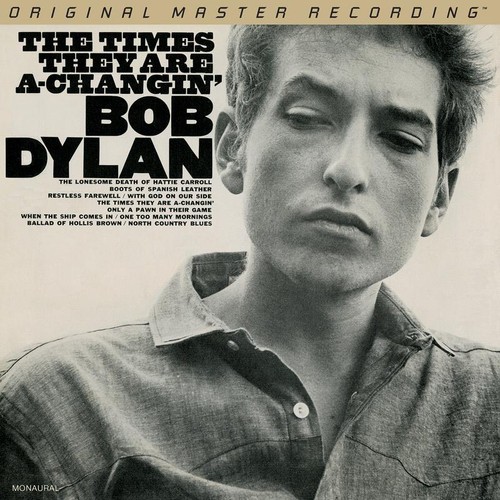 Bob Dylan - The Times They Are A Changin' (1x Limited to 3,000, Numbered Hybrid Mono SACD) Pop SACD. MoFi - Mobile Fidelity Sound Lab UDSACD2179M. EAN 821797217965.