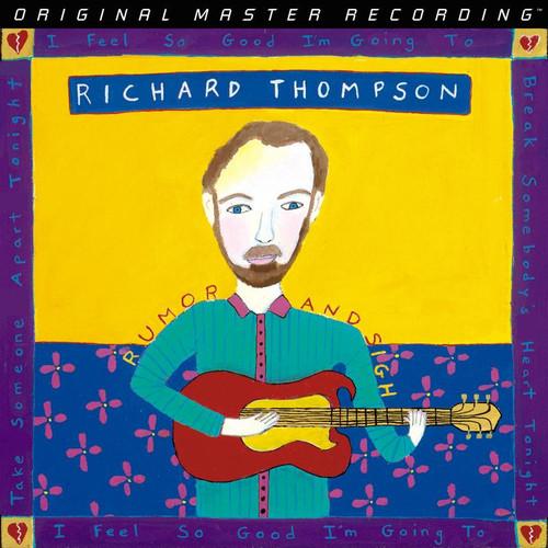 Richard Thompson - Rumor and Sigh (1x Limited to 2,000, Numbered Hybrid SACD) Rock SACD. MoFi - Mobile Fidelity Sound Lab UDSACD2194. EAN 821797219464. Release date 00.01.1900. More info on www.sepeaaudio.com