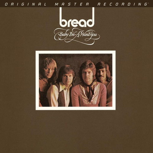 Bread - Baby I'm-A Want You (1x Limited to 2,000 Numbered Hybrid SACD) Rock SACD. MoFi - Mobile Fidelity Sound Lab UDSACD2205. EAN 821797220569. Release date 00.01.1900. More info on www.sepeaaudio.com