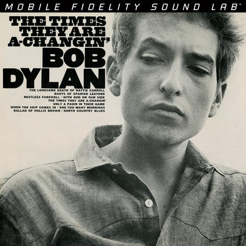 Bob Dylan - The Times They Are A Changin' (1x Limited Numbered Hybrid SACD) (UDSACD2123). MoFi - Mobile Fidelity Sound Lab UDSACD2123. More info on www.sepeaaudio.com