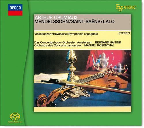 Arthur Grumiaux: Mendelssohn / Saint-Saëns / Lalo (Hybrid SACD) (ESOTERIC ESSD-90241)