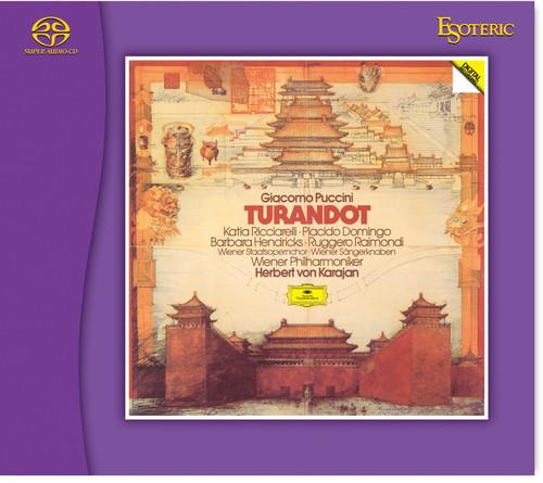 Giacomo Puccini: Turandot Conducted by Herbert von Karajan (Hybrid SACD) (ESOTERIC ESSG-90243/4)