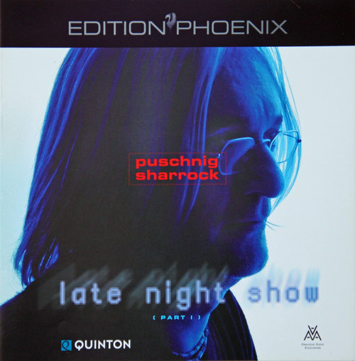 "AAA Master Tape - Wolfgang Puschnig & Linda Sharrock - Late Night Show / Part I, ""Edition Phönix"" Series from Analogue Audio Association EPHB Q0503, halftrack Stereo on 1/4"" RTM SM 468 tapes. More info www.sepeaaudio.com"