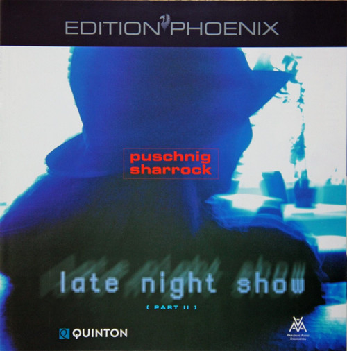 "AAA Master Tape - Wolfgang Puschnig & Linda Sharrock - Late Night Show / Part II, ""Edition Phönix"" Series from Analogue Audio Association EPHB Q0504, halftrack Stereo on 1/4"" RTM SM 468 tapes. More info www.sepeaaudio.com"