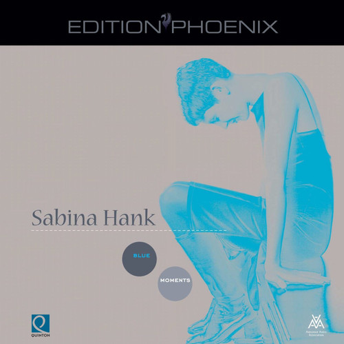 "AAA Master Tape - Sabina Hank - Blue Moments, ""Edition Phönix"" Series from Analogue Audio Association, EPHP Q0105, halftrack Stereo on 1/4"" RTM SM 468 tapes. More info www.sepeaaudio.com"