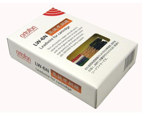Ortofon LW-6N leadwires for tonearm headshell (J061230026)