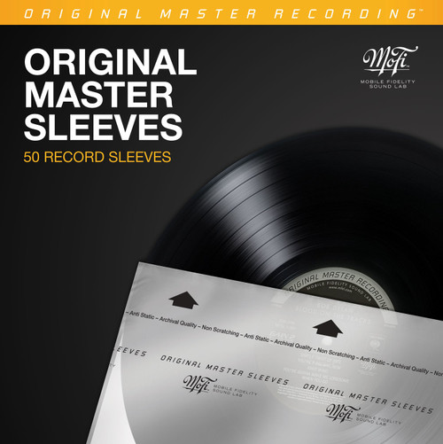 Mofi Record Inner Sleeves Pack (50 x Plastic Inner Sleeves for LP)