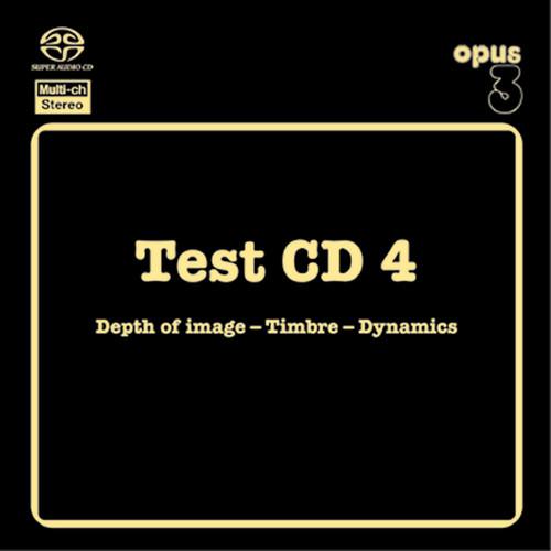 Test CD 4, Various (1x Hybrid SACD multi-channel) (SACD19420)