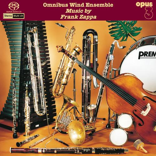 Omnibus Wind Ensemble, Music By Frank Zappa (1x Hybrid SACD multi-channel) (SACD19423)