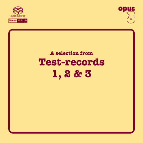 A Selection From Test-Records 1, 2 & 3 (1x Hybrid SACD multi-channel) (SACD19520)
