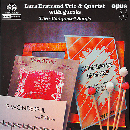 Lars Erstrand Trio & Quartet With Guest, The Complete Songs (1x Hybrid SACD multi-channel) (SACD22014)