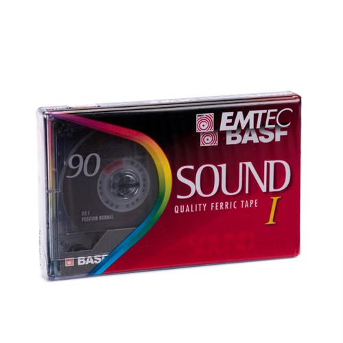 EMTEC Sound I 90 Compact Audio Cassette Tape (SEP4009)
