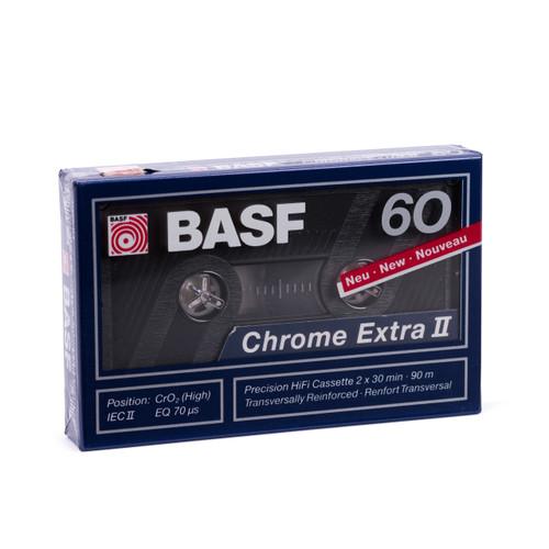 BASF Chrome Extra II 60 Compact Audio Cassette Tape