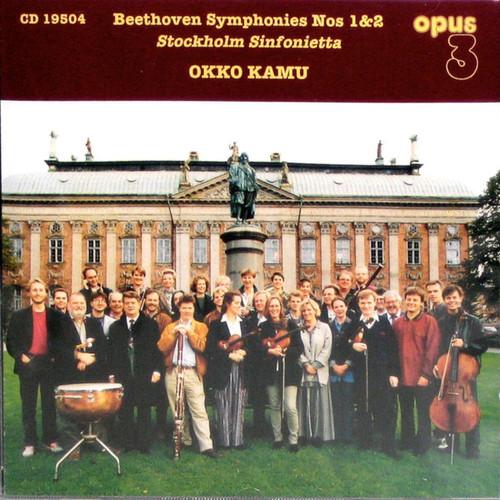 TAPE - Stockholm Sinfonietta: Okko Kamu, Beethoven Symphonies Nos. 1 & 2 (AM 19504)