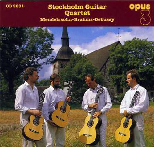 TAPE - Stockholm Guitar Quartet,Mendelssohn, Brahms & Debussy