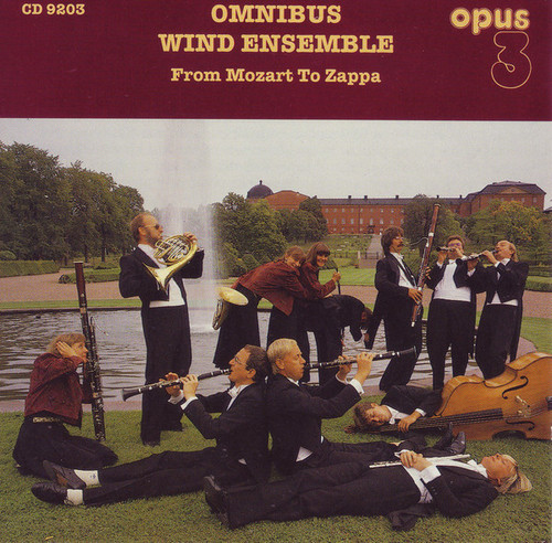 TAPE - Omnibus Wind Ensemble,  From Mozart to Zappa (AM 9203)