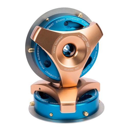 Studio Alchemist NAB Isolator gold/blue (NAB adapter for Trident. 1 pair)