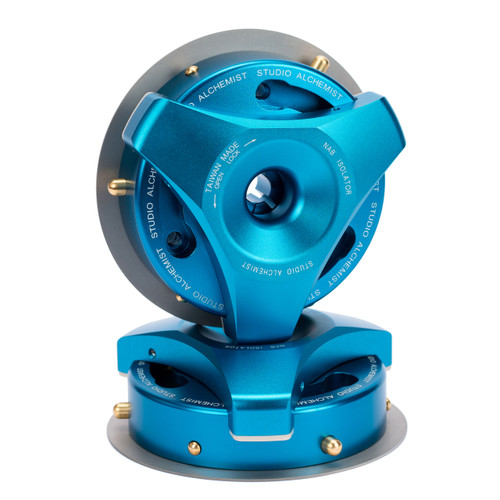 Studio Alchemist NAB Isolator blue/blue (NAB adapter for Trident. 1 pair)