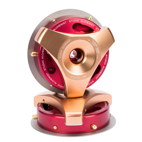 Studio Alchemist NAB Isolator gold/red (NAB adapter for Trident. 1 pair)