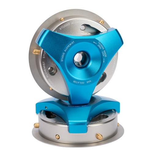 Studio Alchemist NAB Isolator blue/silver (NAB adapter for Trident. 1 pair)