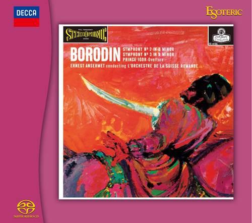 BORODIN: Symphony No.2, L'Orchestre de la Suisse Romande, Conducted by Ernest Ansermet (Hybrid SACD) (ESSD-90246)