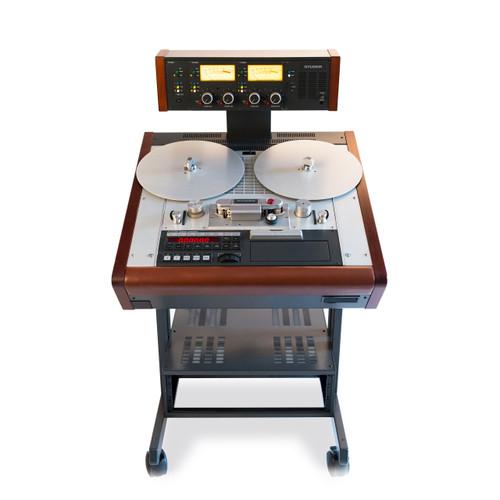 "Studer A812 Mk.II VU TC 1/4"" stereo reel tape recorder - renovated"