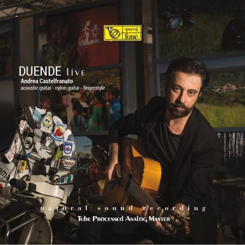 Andrea Castelfranato, Andrea Castelfranato, DUENDE LIVE (1x 180g Super Audiophile Vinyl - MADE in USA) Jazz LP. Fonè Records FoneLP147A. EAN 9780201314717.