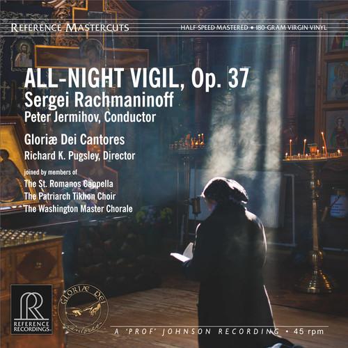Rachmaninoff: All-Night Vigil, Op. 37, Gloriæ Dei Cantores/Peter Jermihov LP 180g - Reference Recordings RM-2521