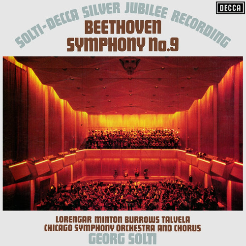 Classical  LP 180g - Beethoven: Symphony No. 9. Speakers Corner 121, Cat.# Decca 6BB 121/2, format 2LPs 180g 33rpm. Barcode 4260019711779. More info on www.sepeaaudio.com