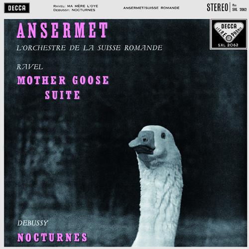 Classical  LP 180g - Ravel: Ma Mère l'Oye / Debussy: Nocturnes. Speakers Corner 2062, Cat.# Decca SXL 2062, format 1LP 180g 33rpm. Barcode 4260019710123. More info on www.sepeaaudio.com