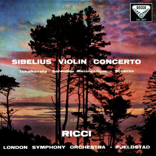 Classical  LP 180g - Sibelius: Violin Concerto / Tchaikovsky: Sérénade mélancolique. Speakers Corner 2077, Cat.# Decca SXL 2077, format 1LP 180g 33rpm. Barcode 4260019710987. More info on www.sepeaaudio.com