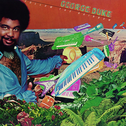 Jazz Pop LP 180g - George Duke: Follow The Rainbow. Speakers Corner 35701, Cat.# Epic JE 35701, format 1LP 180g 33rpm. Barcode 4260019714862. More info on www.sepeaaudio.com