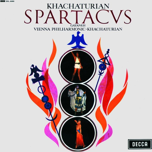 Classical  LP 180g - Khachaturian: Spartacus, Gayneh. Speakers Corner 6000, Cat.# Decca SXL 6000, format 1LP 180g 33rpm. Barcode 4260019710796. More info on www.sepeaaudio.com