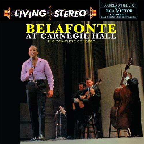 Pop LP 180g - Harry Belafonte: Belafonte At Carnegie Hall. Speakers Corner 6006, Cat.# RCA LSO-6006, format 2LPs 180g 33rpm. Barcode 4260019714589. More info on www.sepeaaudio.com