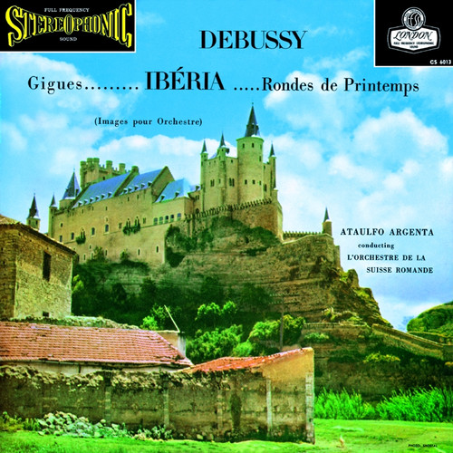 Classical  LP 180g - Debussy: Images pour Orchestre. Speakers Corner 6013, Cat.# London CS 6013, format 1LP 180g 33rpm. Barcode 4260019710376. More info on www.sepeaaudio.com