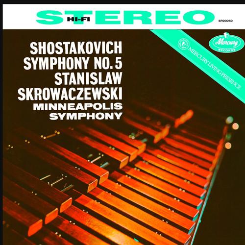 Classical  LP 180g - Shostakovich: Symphony No. 5. Speakers Corner 90060, Cat.# Mercury SR90060, format 1LP 180g 33rpm. Barcode 4260019712547. More info on www.sepeaaudio.com
