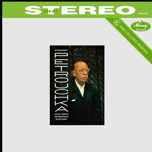 Classical  LP 180g - Stravinsky: Petruchka. Speakers Corner 90216, Cat.# Mercury SR90216, format 1LP 180g 33rpm. Barcode 4260019714961. More info on www.sepeaaudio.com