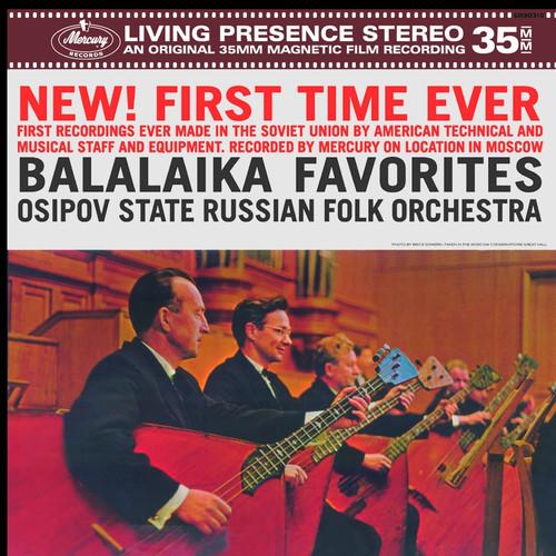 4260019714633 LP 180g - Balalaika Favorites. Speakers Corner 90310, Cat.# Mercury SR90310, format 1LP 180g 33rpm. Barcode Classical . More info on www.sepeaaudio.com