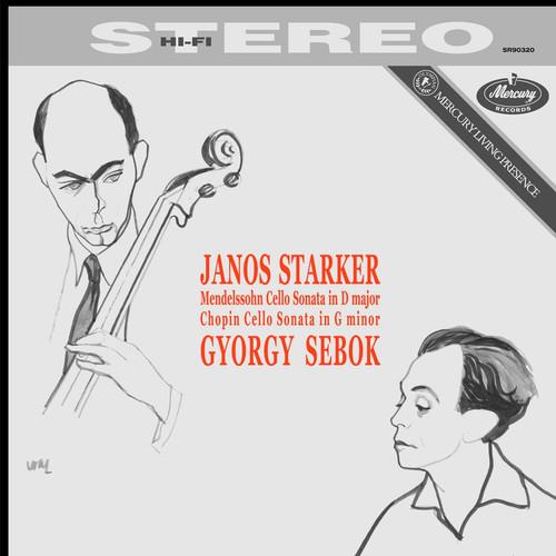 Classical  LP 180g - Mendelssohn / Chopin: Cello Sonatas . Speakers Corner 90320, Cat.# Mercury SR90320, format 1LP 180g 33rpm. Barcode 4260019713124. More info on www.sepeaaudio.com