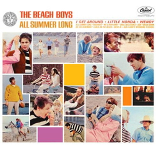 LP 200g - The Beach Boys: All Summer Long (stereo-edition). Acoustic Sounds AS063S, Cat.# AS AAPP 063 S-33, format 1LP 200g 33rpm. Barcode 0753088006319. More info on www.sepeaaudio.com