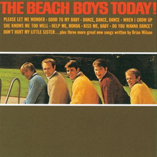 LP 200g - The Beach Boys: Today! (stereo-edition). Acoustic Sounds AS064S, Cat.# AS AAPP 064 S-33, format 1LP 200g 33rpm. Barcode 0753088006418. More info on www.sepeaaudio.com