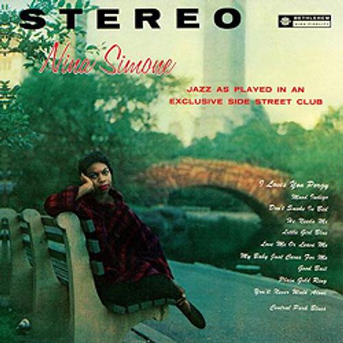 Pop Jazz LP 200g - Nina Simone: Little Girl Blue. Acoustic Sounds AS08333, Cat.# AS AAPJ 083-33, format 1LP 200g 33rpm. Barcode 0753088008313. More info on www.sepeaaudio.com