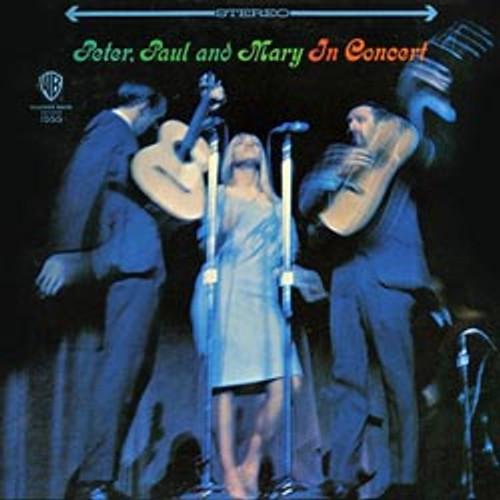 Pop LP 200g - Peter, Paul & Mary: In Concert. Acoustic Sounds AS1555, Cat.# AS AAPF 1555-33, format 2LPs 200g 33rpm. Barcode 0753088155512. More info on www.sepeaaudio.com