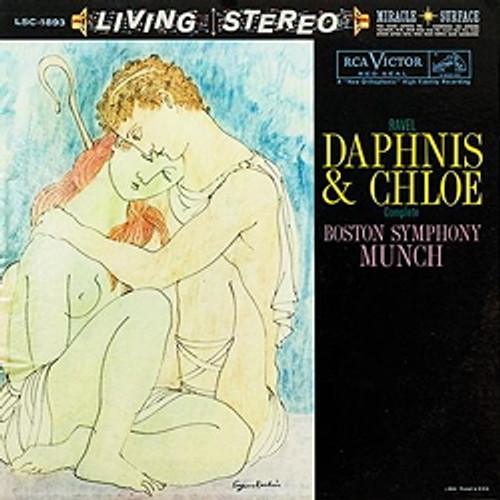 Classical  LP 200g - Ravel: Daphnis And Chloe. Acoustic Sounds AS189333, Cat.# AS AAPC 1893-33, format 1LP 200g 33rpm. Barcode 0753088189319. More info on www.sepeaaudio.com