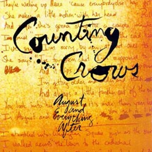 Pop LP 200g - Counting Crows: August And Everything After (45rpm-edition). Acoustic Sounds as24528, Cat.# AS AAPP 24528-45, format 2LPs 200g 45rpm. Barcode 0753088452871. More info on www.sepeaaudio.com