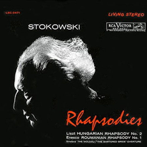 Classical  LP 200g - Leopold Stokowski: Rhapsodies (45rpm-edition). Acoustic Sounds AS247145, Cat.# AS AAPC 2471-45, format 2LPs 200g 45rpm. Barcode 0753088714511. More info on www.sepeaaudio.com