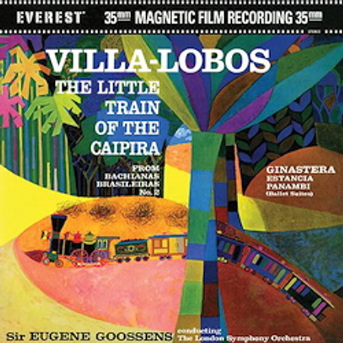 Classical  LP 200g - Villa-Lobos: The Little Train Of The Caipira (45rpm-edition). Acoustic Sounds AS304145, Cat.# AS AEVC 3041-45, format 2LPs 200g 45rpm. Barcode 0753088304118. More info on www.sepeaaudio.com