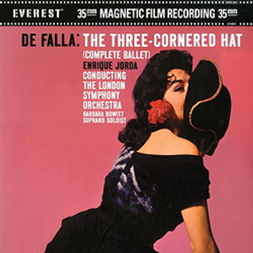Classical  LP 200g - Falla: The Three-Cornered Hat (45rpm-edition). Acoustic Sounds AS305745, Cat.# AS AEVC 3057-45, format 2LPs 200g 45rpm. Barcode 0753088305719. More info on www.sepeaaudio.com